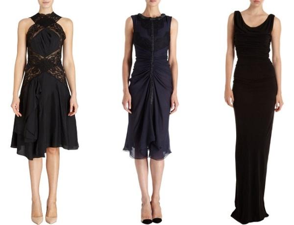 Tre scelte di abiti da gala