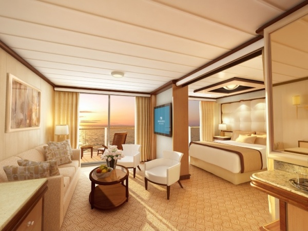 Suites on the Royal Princess