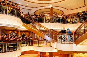 Cunard Queen Elizabeth Naming Ceremonies.