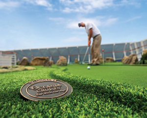 putting green regatta oceania cruises