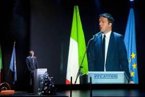 Renzi: issare ogni mattina bandiera italiana e vento in poppa