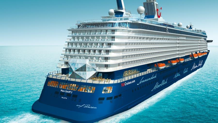 Tui cruises ordina altre due navi alla stx saranno la for Capitale finlandese