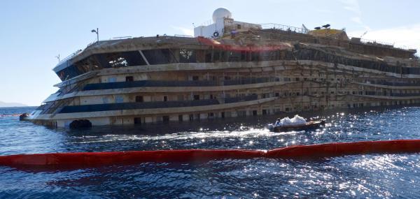 Concordia: continuano operazioni messa in sicurezza