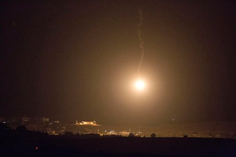 Israeli Hamas Rockets