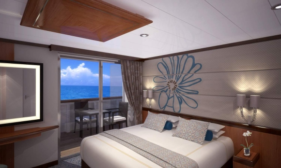 Balcony Stateroom, The Moana