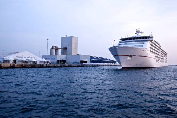 L'attuale Mina Zayed Cruise Terminal