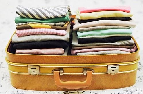 valigia impacchettata