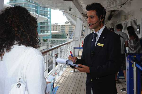 cruise staff Costa Crociere