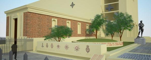 Il progetto del Flanders Fields Memorial Gardens