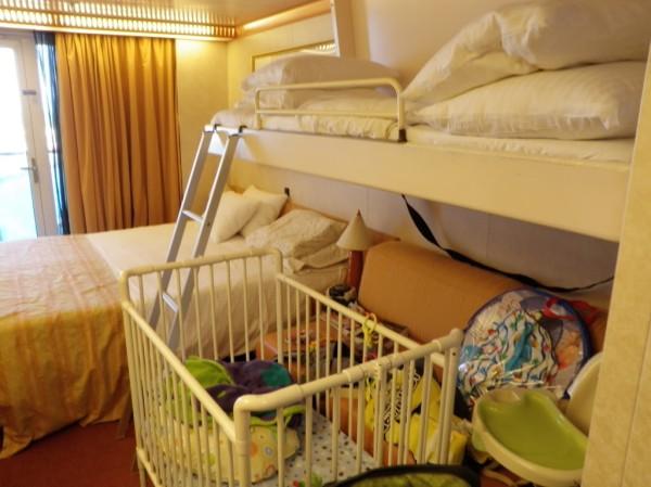 in crociera coi neonati