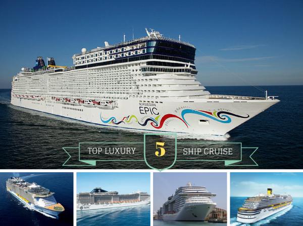 TOP 5 luxury cruise