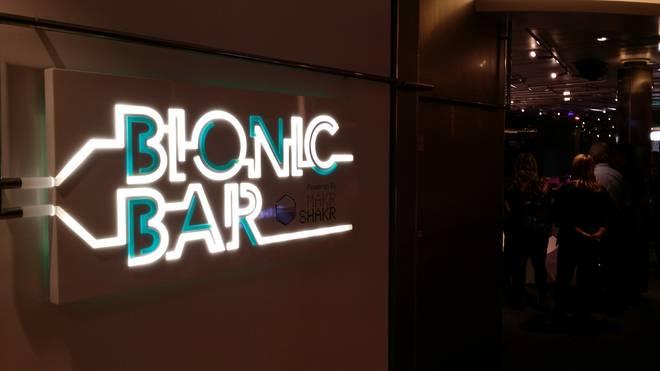 Quantum of the Seas: il Bionic Bar, idea italiana