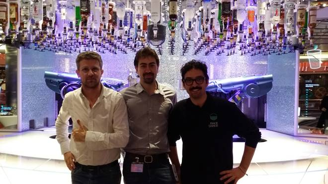 Quantum of the Seas: il Bionic Bar, idea italiana